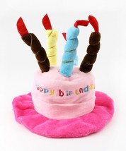 Birthday Cake Hat for Dogs by Midlee Pink - $23.29
