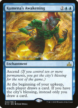 MTG - Kumena's Awakening  - Rivals Of Ixalan -=NEW=- - $1.19