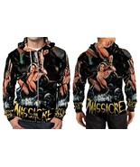 The Massacre Machine Horror Cool HOODIE ZIPPER FULLPRINT MEN - $55.99+