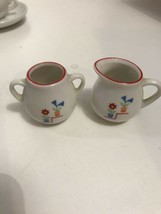 MOLLY American Girl Pleasant Company Birthday China Tea Set Cream & Sugar Bowl - $39.55