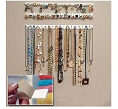 J.C Arts 9 in 1 Adhesive Paste Wall Hanging Storage Hooks Jewelry Displa... - $13.16