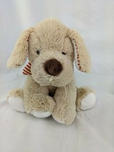 "Maurice Tan Hope Dog Plush Bone Collar 7"" 2012 Stuffed Animal Toy - $19.95"