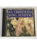 A Christmas Song Festival CD COMPLETE RARE OOP Holiday Music Free Shipping - $9.69