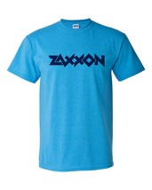 Zaxxon heather blue retro distressed thumb200