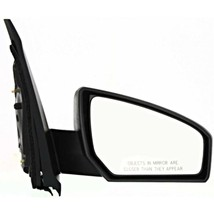 Fits 07-12 Nissan Sentra Right Passenger Power Mirror Unpainted Without ... - $48.46