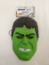 NEW w/ tags Marvel Avengers Incredible Hulk Kids Halloween Plastic Mask - $9.89