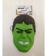 NEW w/ tags Marvel Avengers Incredible Hulk Kids Halloween Plastic Mask - $9.49