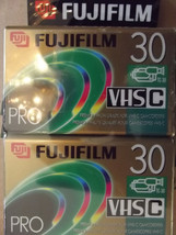 Fuji Film Pro TC-30 VHS-C Camcorder Tape Sealed - $4.77