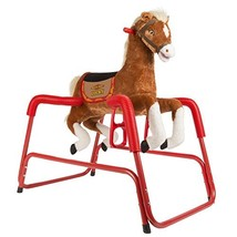 Rockin' Rider Lucky Talking Plush Spring Horse - $128.43