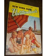 c1951 NEW YORK STATE VACATIONLAND ADVERTISING GUIDE SOUVENIR VACATION BOOK - $9.89