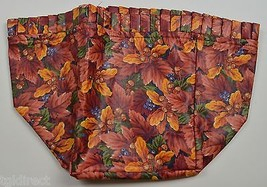 Longaberger Maple Leaf Basket Liner Fall Foliage Fabric Accessory Collec... - $14.99