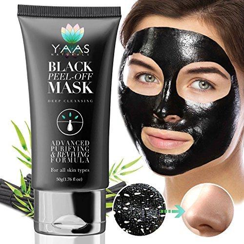 YAAS Naturals Charcoal Face Mask