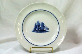 Wedgwood 1992 American Clipper Red Jacket Circa 1853 Salad Plate - $17.32