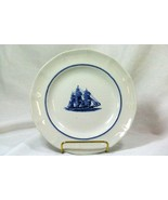 Wedgwood 1992 American Clipper Red Jacket Circa 1853 Salad Plate - $15.74