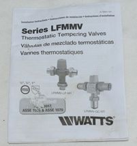 Watts Thermostatic Mixing Valve 0559116 1/2 Inch Domestic Hot Water Systems image 7