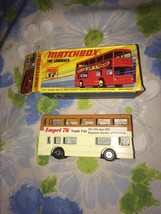 VTG NIP New Matchbox The Londoner #17 Impel 76 Trade Fair Toy Car Bus 19... - $123.45