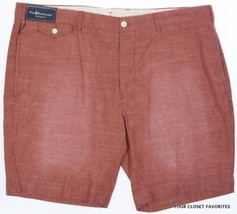 Polo Ralph Lauren Men's 40 Red Straight Fit Kingsley Faded Chambray Shorts - $38.95