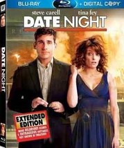 DVD - Date Night (Two-Disc Extended Edition + Digital Copy) (Blu-ray) 2-DVD  - $9.94