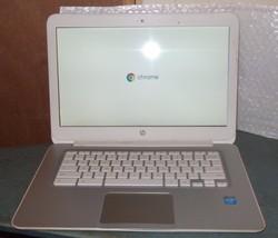 "HP Chromebook 14 SMB (G1)  14""  1.40GHz Dual Core Intel Celeron 4GB Ram 16GB - $45.00"
