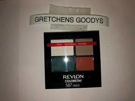 Revlon Colorstay 16 Hour Eye Shadow #587 Wild NEW  Factory Sealed - $9.89