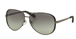 Michael Kors Sunglasses Chelsea Mk 5004 101311 Gunmetal Black w/ Grey Gradient - $99.95