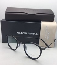 New OLIVER PEOPLES Eyeglasses MP-2 OV 1104 5244 46-24 Matte Black-Gunmetal Frame - $409.95