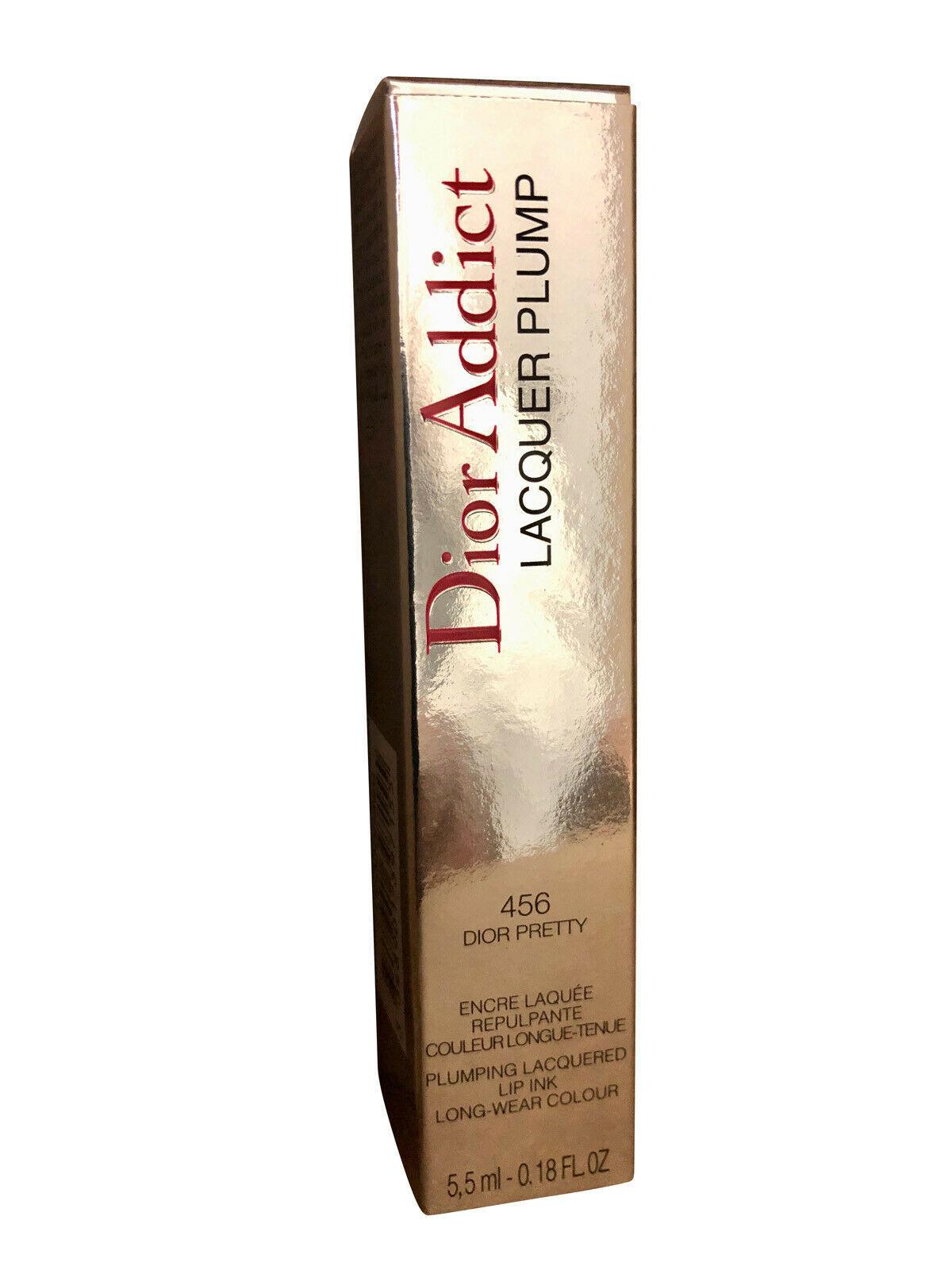 Dior Addict Lacquer Plump 456 Dior Pretty 0.18 OZ - $39.00