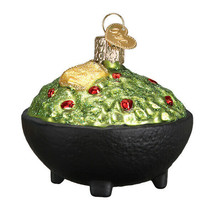 Old World Christmas Gaucamole Blown Glass Fruit Dip Christmas Ornament 32320 - $12.88