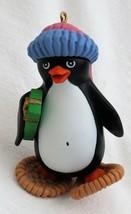 Penguin in Snowshoes Ornament 1984 Hallmark - $8.99