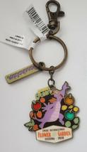 NWT Disney Parks 2020 Epcot Flower & Garden Festival Figment Passholder Keychain - $12.82