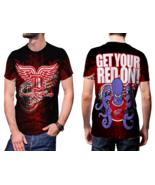 Detroit Red Wings T-shirt Fullprint For Men - $24.99
