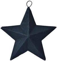 """Black Metal Mini Barn Stars (Set of 5) 3.5"""""""
