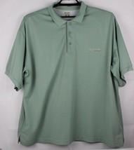 Columbia men's PFG performance fishing gear short sleeve green size XXL - $20.12