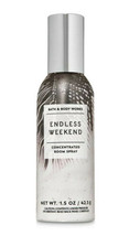 *NEW* ENDLESS WEEKEND 1.5 oz Concentrated Room Spray Bath & Body Works - $7.99