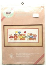 """Dimensions I Love You Bears Counted Cross Stitch Kit 53503 Kimberly Knoll 18""""x8"""" - $11.28"""