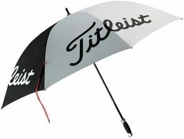 """NEW! White/Black 62"""" Titleist Golf Tour Single Canopy Umbrella TA4ACSCU-01 - $88.98"""