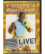 Billy's BootCamp Cardio BootCamp Live! Billy Blanks (DVD, New Sealed) - $5.19