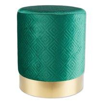 Green Velvet Stool - $55.28