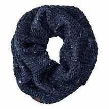 Timberland Women's Basket Weave Dark Navy Infinity Scarf Neck Warmer A1GN8 - $26.42 CAD