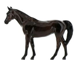 Hagen Renaker Miniature Horse Thoroughbred Race Citation Ceramic Figurine Boxed image 4