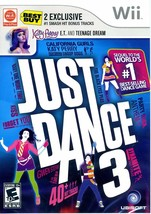 Just Dance 3 (Nintendo Wii, 2011) NEW Sealed Pop Party Songs Dancing Game - $11.04