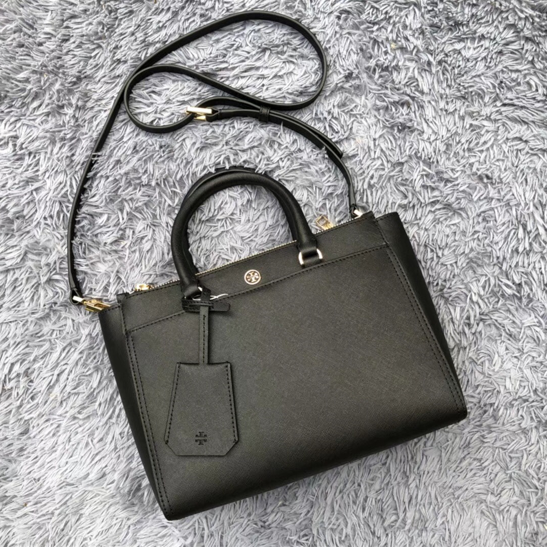 5f52845ed04 Img 3310. Img 3310. Previous. Tory Burch Robinson Small Leather Double Zip  Tote · Tory Burch ...