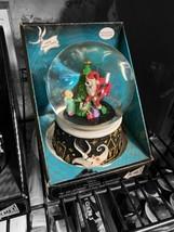 Disney Nightmare Before Christmas Musical Water Globe Jack as Santa - $69.99