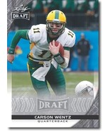 CARSON WENTZ 2016 Leaf Draft Football Rookie RCs NORTH DAKOTA STATE - $4.89