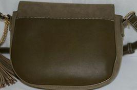 Amanda Blu Company Tassel Saddle Bag Purse 85137 Sage Color image 6