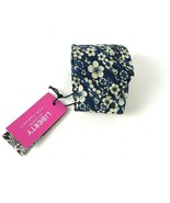 Liberty of London For Target Silk Tie NWT blue floral - $29.69
