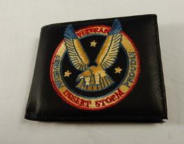 Men's  Wallet Desert Storm Veteran, Bi Fold, Veteran's Credit Card Walle... - $9.75