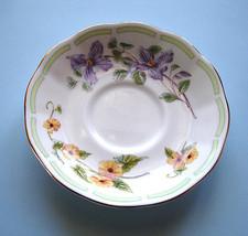 Royal Albert Botanical Teas CLEMATIS Tea Saucer Bone China New - $19.99