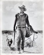 JOHN WAYNE Autographed Photograph - 8x10 from the Western film Hondo - $1,088.01