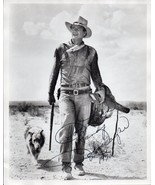 JOHN WAYNE Autographed Photograph - 8x10 from the Western film Hondo - $1,088.01